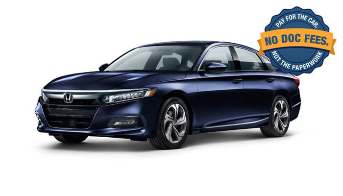 2019 Accord EX 1.5T CVT Sedan
