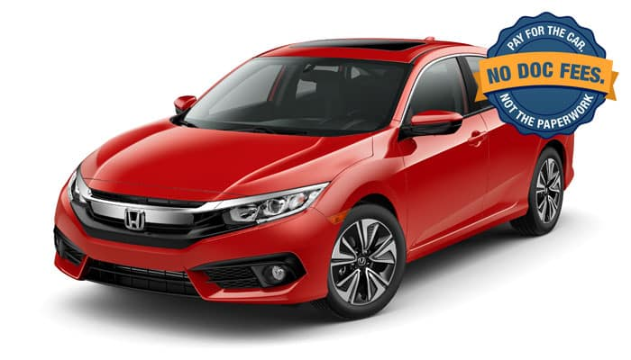 2018 Civic EX 2.0 CVT Sedan