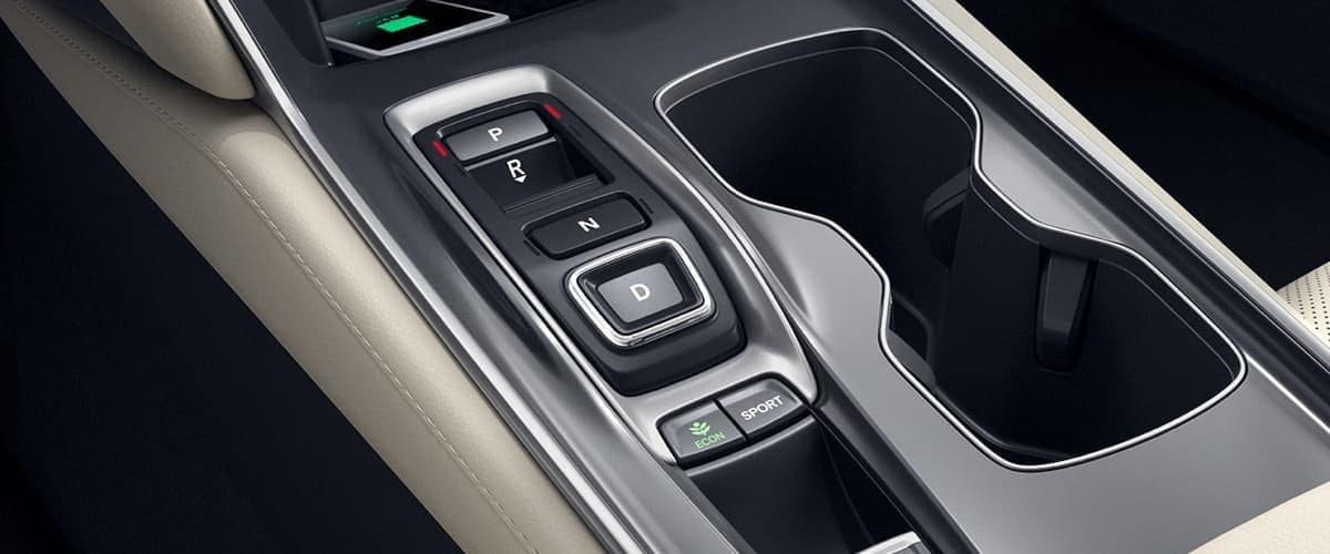 2019 Honda Accord dashboard detail