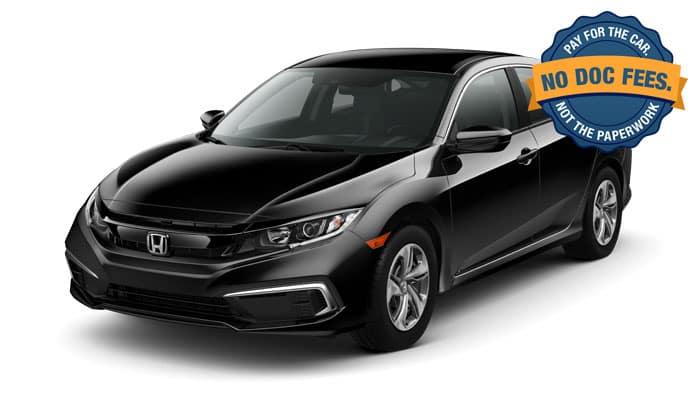 2019 Civic 2.0 LX CVT Sedan