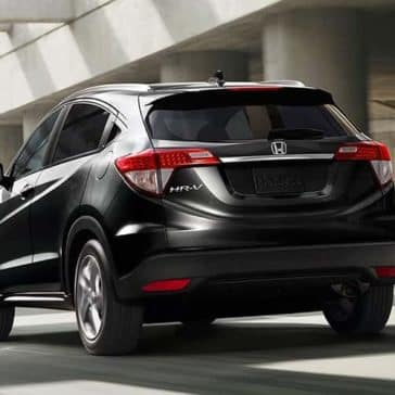 2019 Honda HR-V rear view by building