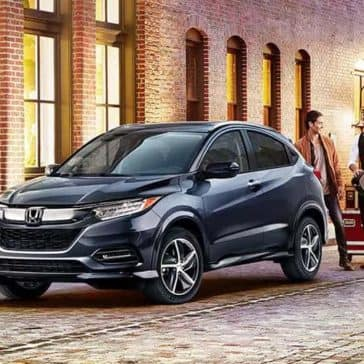 2019 Honda HR-V parked at dusk