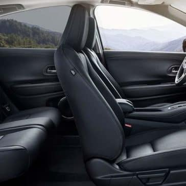 2019 Honda HR-V leather trim seating