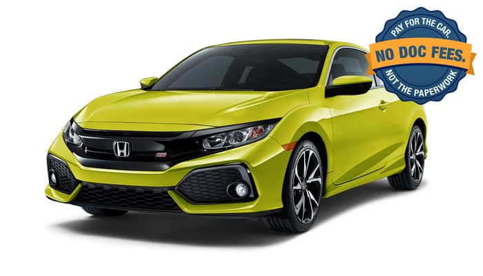 2019 Civic Si Coupe