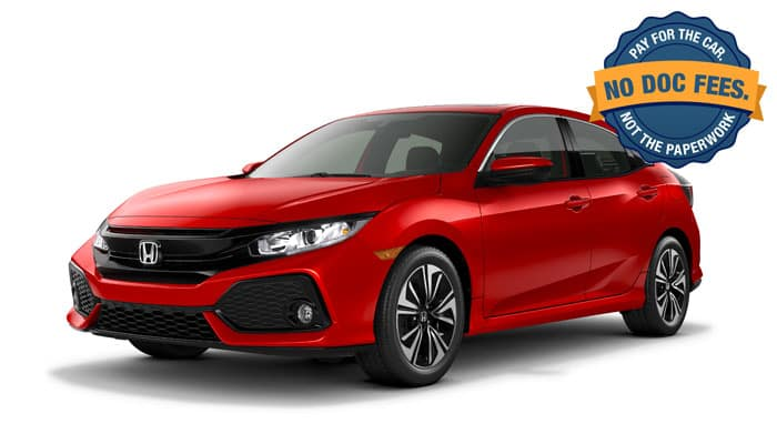 2019 Civic Hatchback EX