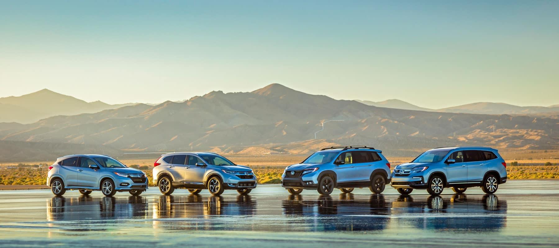 Honda-SUV-lineup