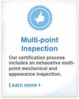 Honda multi-point inspection graphic