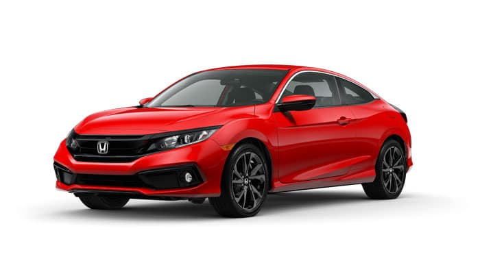 2020 Civic Sport 2.0 Coupe CVT
