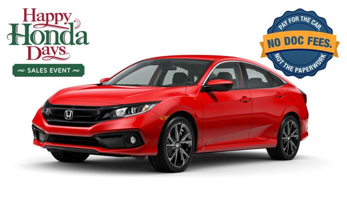 2019 Civic Sport 2.0 Sedan CVT