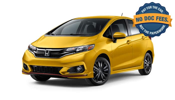 2019 Fit Special Financing