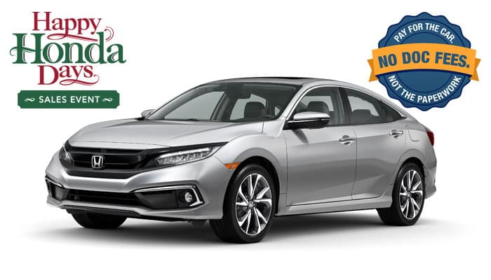 2019 Civic Touring 1.5T Sedan CVT