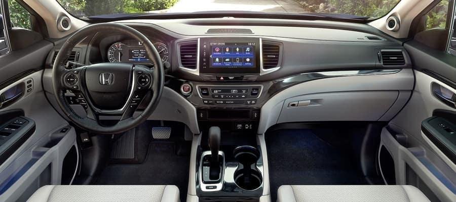 2019 Honda Ridgeline Dash