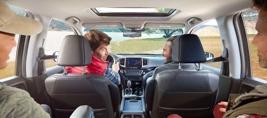 2019 Honda Ridgeline Passengers