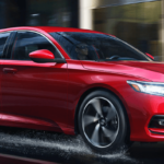 Red 2019 Honda Acura