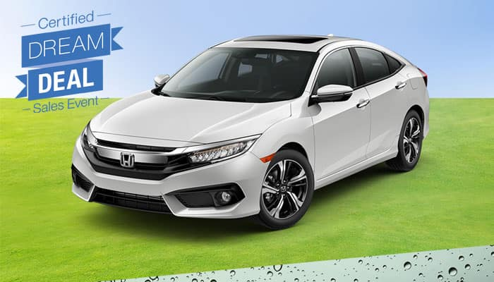 Certified Pre-Owned Civic Special Financing