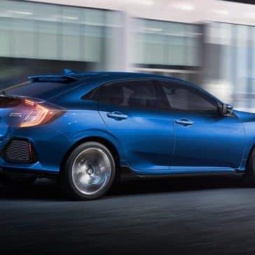 2019 Honda Civic Hatchback Driving