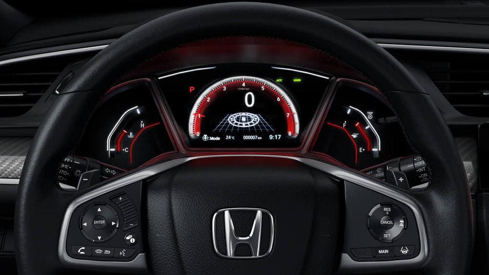 2019 Honda Civic Hatchback Steering wheel
