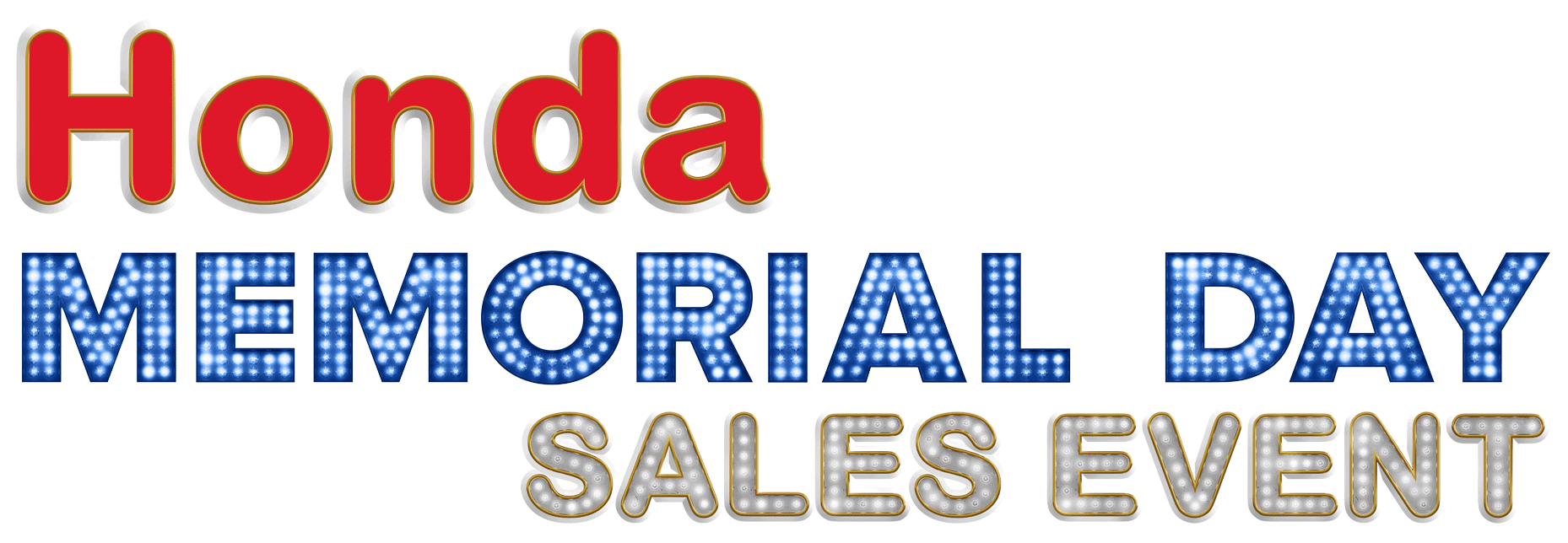 Memorial Day Sales Event Honda of Lincoln