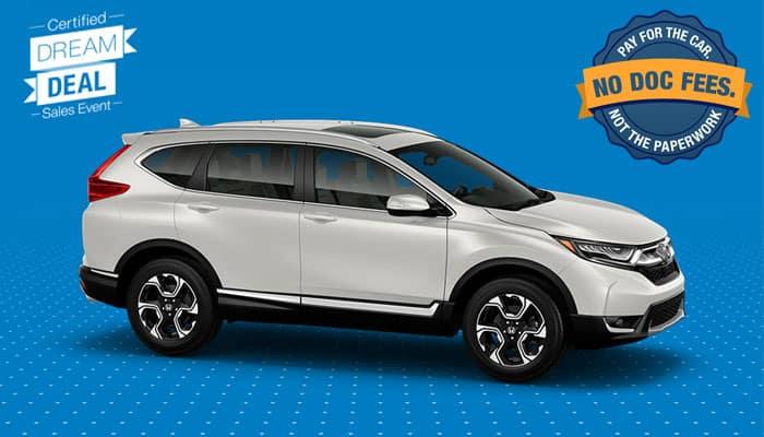 Honda Certified Pre Owned Financing >> Certified Pre Owned Cr V Special Financing Honda Of Lincoln