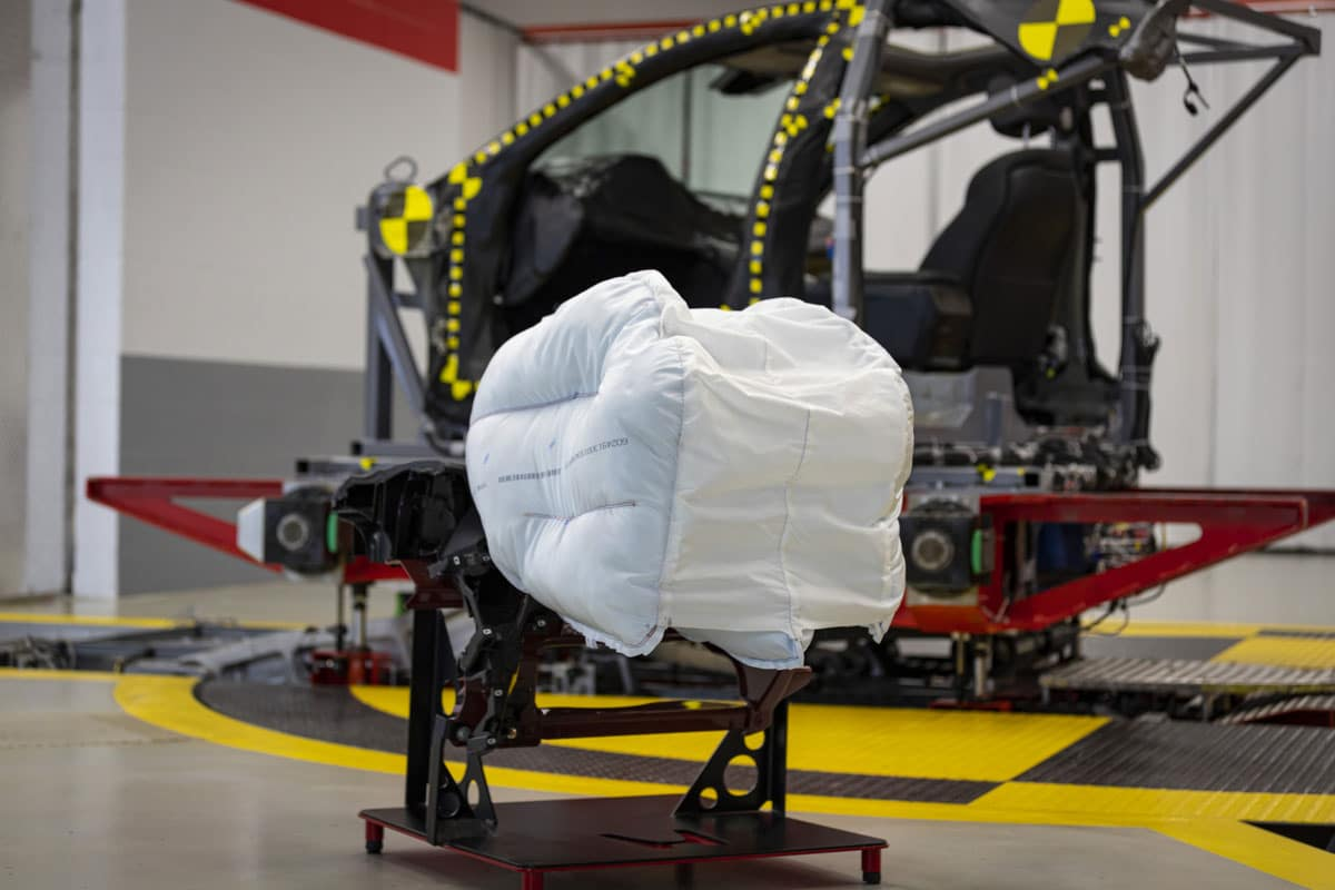 New Passenger Front Airbag Design