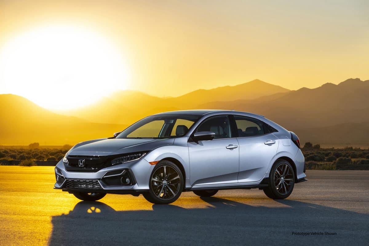 2020 Honda Civic Maintenance Schedule Redesigned 2020 Honda Civic Hatchback Gets Fresh Exterior and