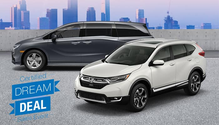 Certified Pre-Owned CR-V and Odyssey Special Financing