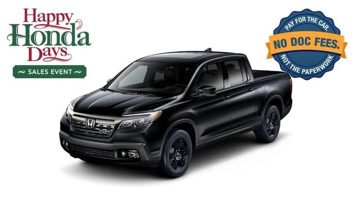 2019 Ridgeline Black Edition AWD