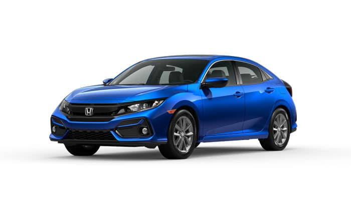 2020 Civic EX Hatchback CVT
