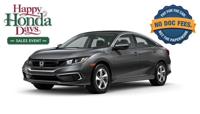 2020 Civic LX 2.0 Sedan CVT