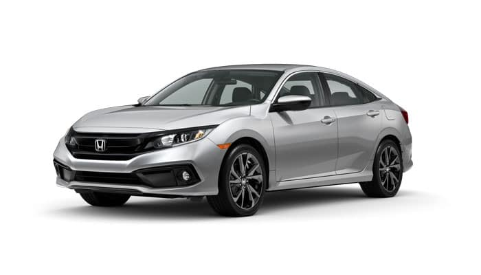 2020 Civic Sport 2.0 Sedan CVT $0 Due at Lease Signing