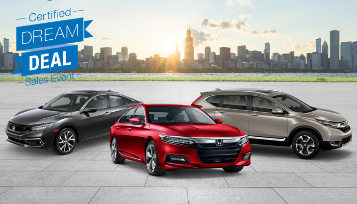 Certified Pre-Owned Accord, Civic and CR-V Special Financing