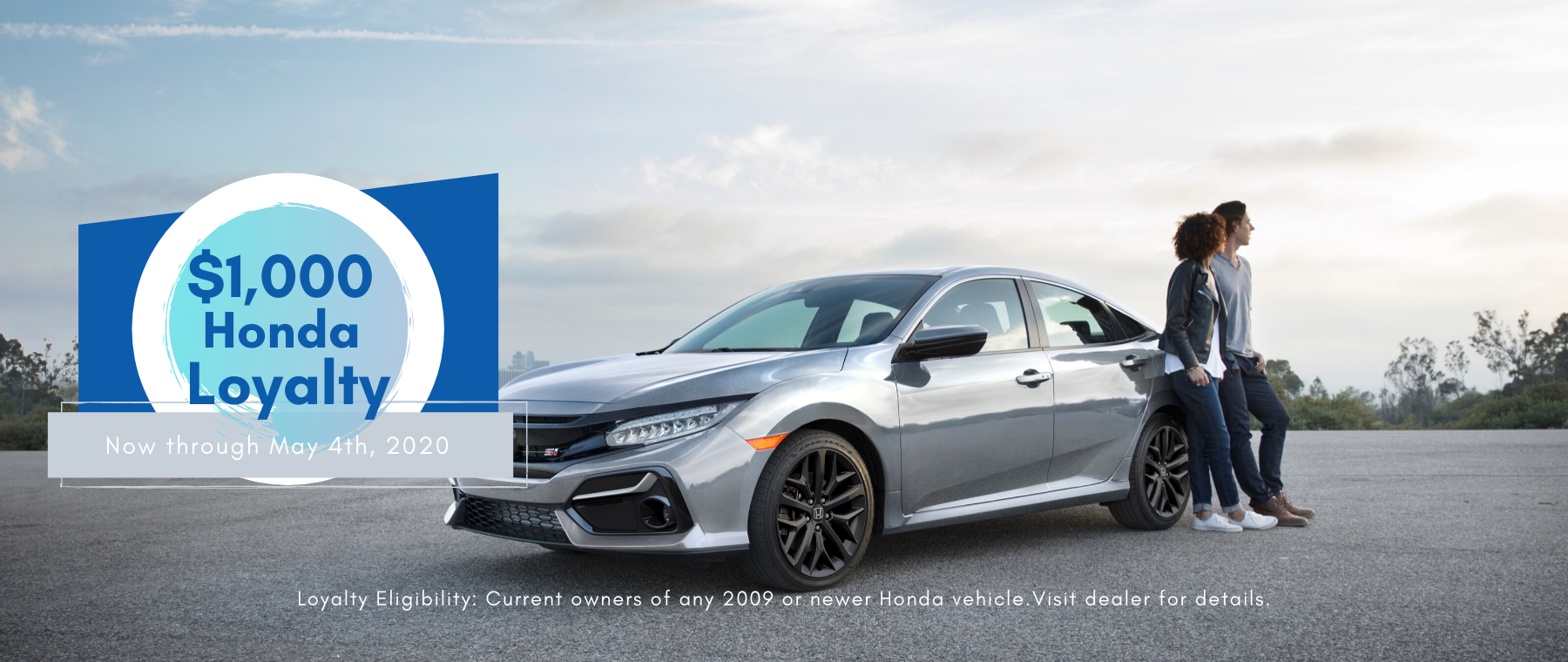 Honda Loyalty offer