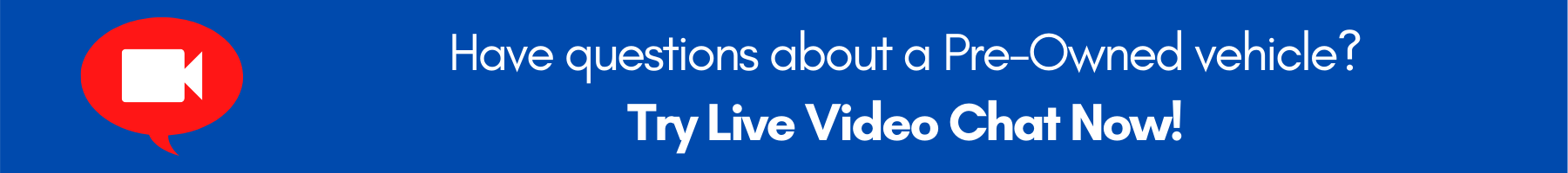 Live Video Chat Banner