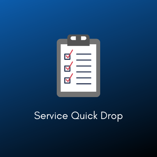 service quick drop