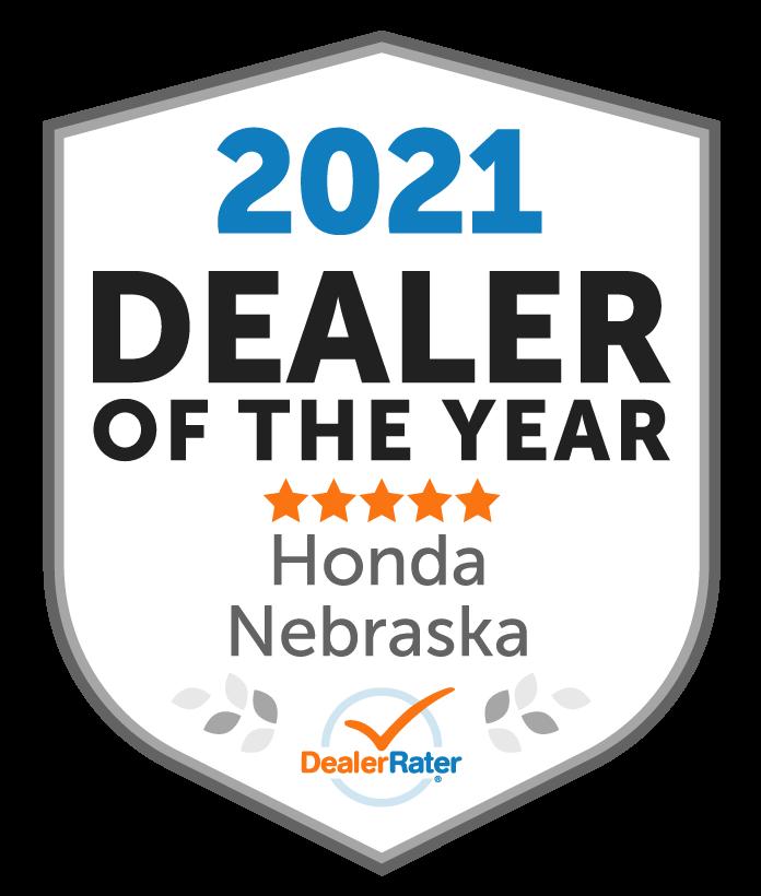2021 Dealer Rater Dealer of the Year