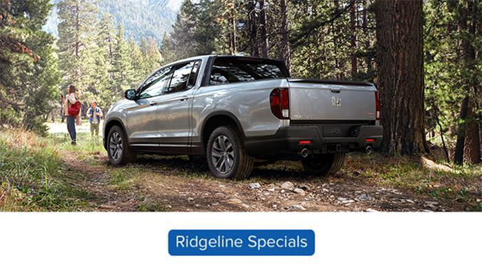 new Honda ridgeline special offers