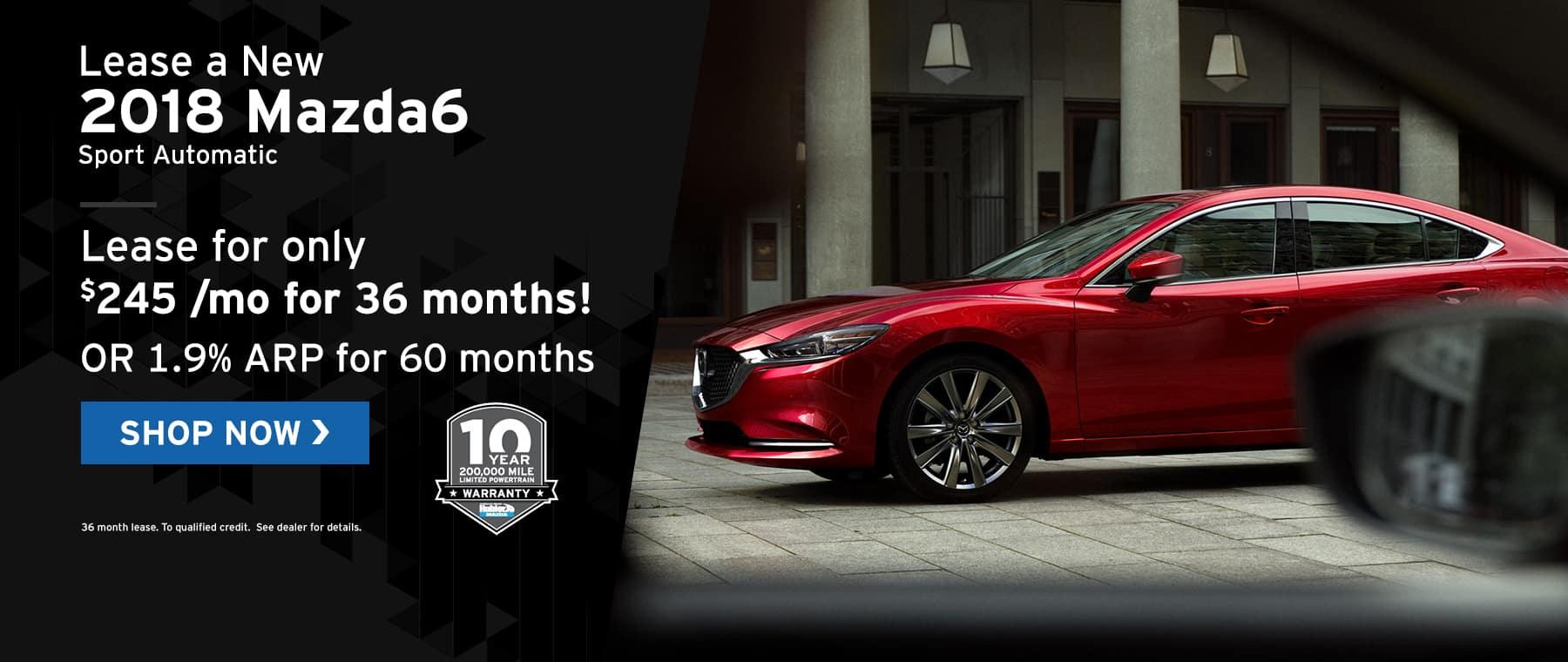 Mazda6 specials at Hubler Mazda