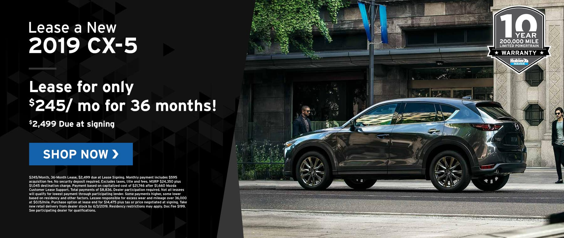 CX-5 specials at Hubler Mazda