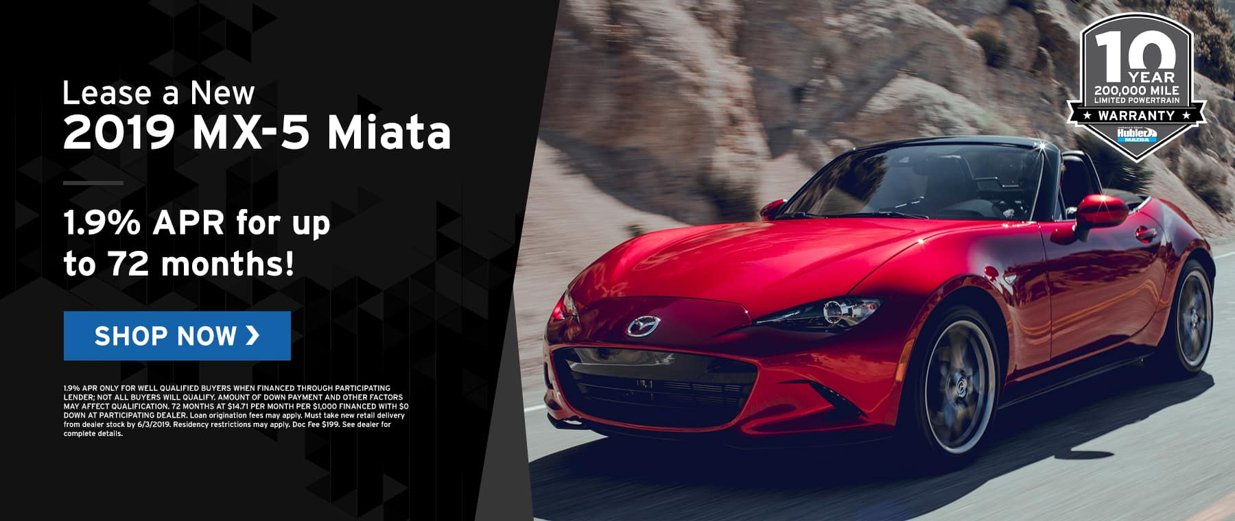 MX-5 Miata specials at Hubler Mazda