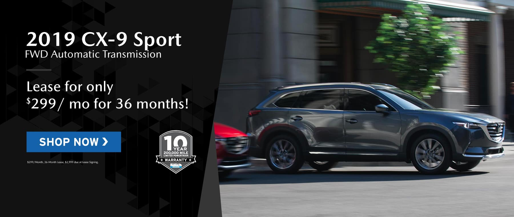 CX-9 offers at Hubler Mazda
