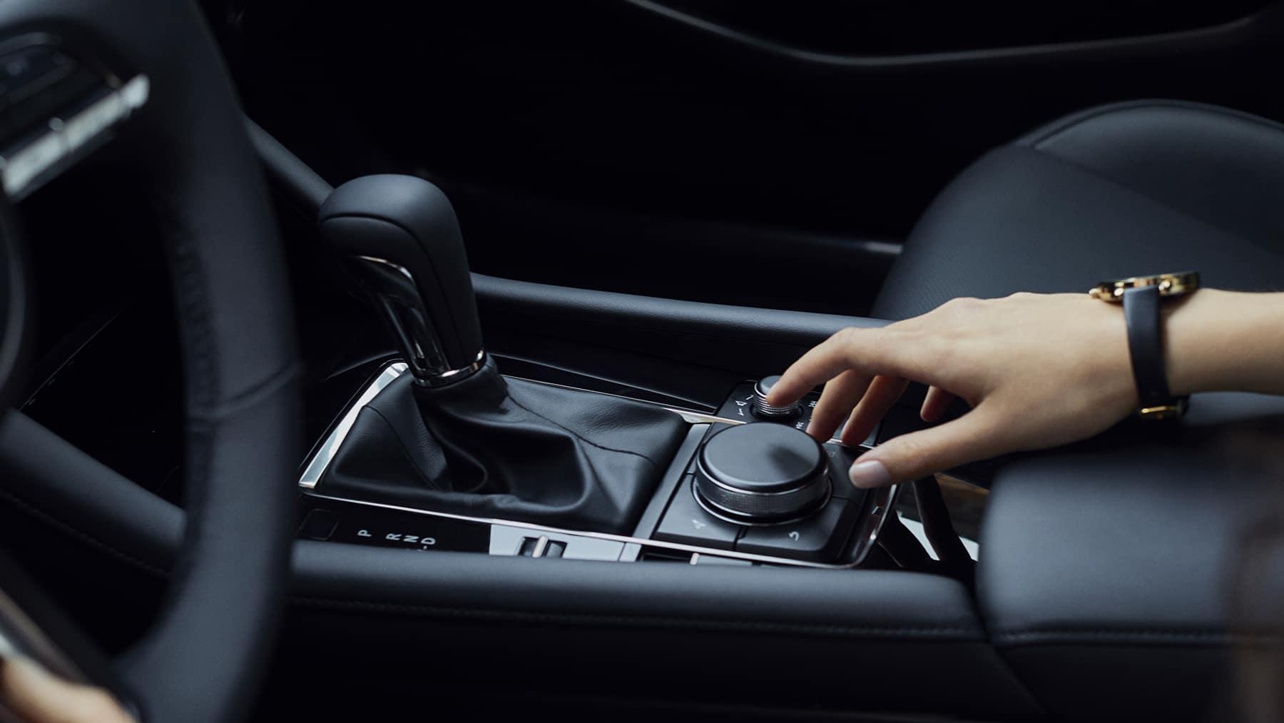 2021 mazda3 interior driver's side