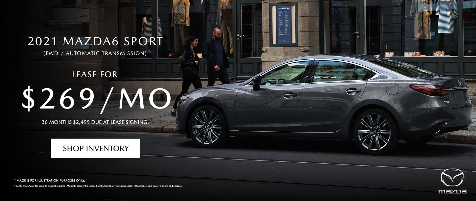 2021 Mazda6 Sport