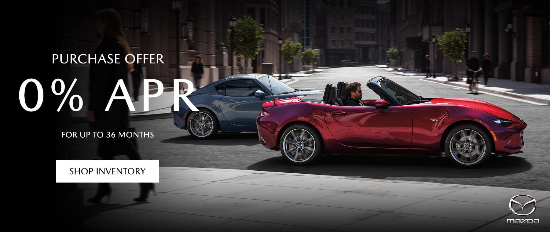PURCHASE OFFER for 0% APR for up to 36 MONTHS