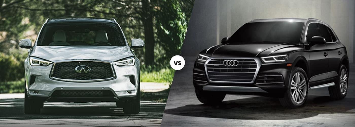 2020 INFINITI QX50 vs. 2020 Audi Q5
