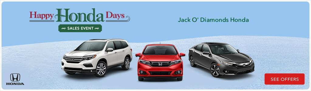 Jack O Diamonds Happy Honda Days 2017