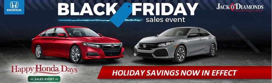 Happy Honda Days The Black Friday Sales Event Is Happening Now