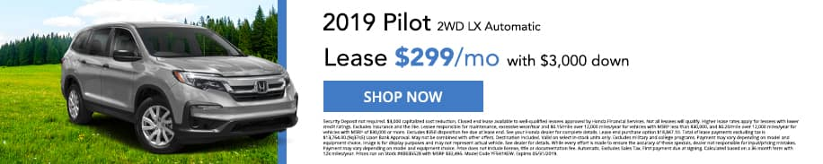 Check out our 2019 Pilot offers