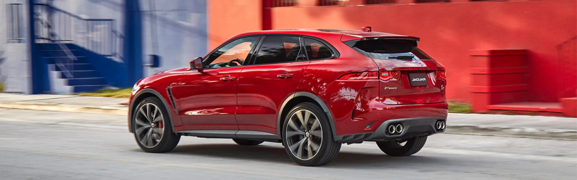 Jaguar F-Pace Hero