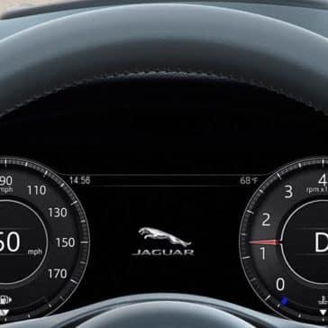 2019 Jaguar E-PACE steering