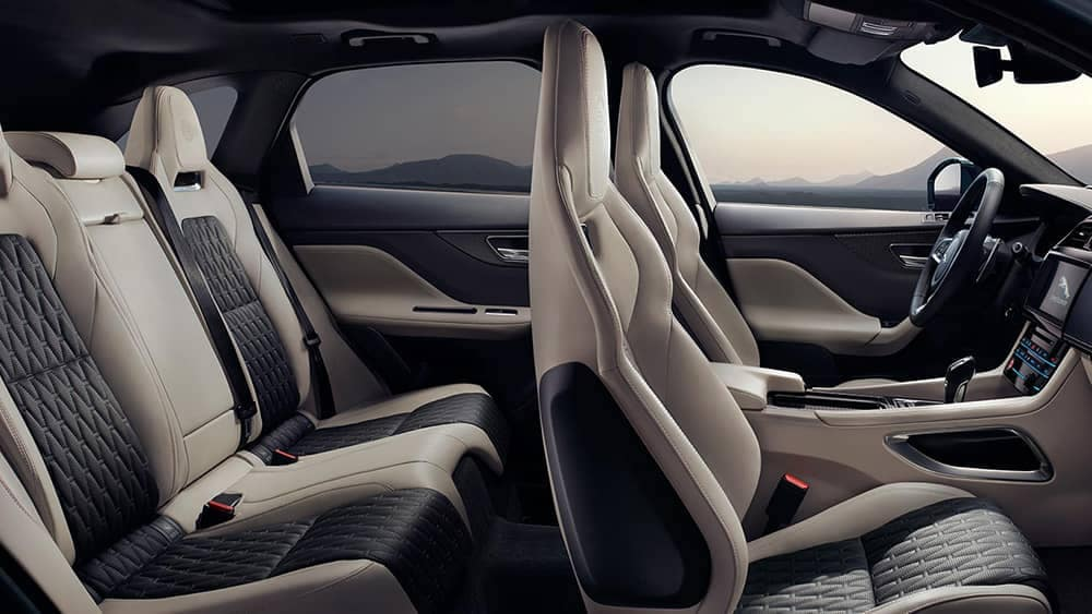 2019 Jaguar F-Pace interior profile
